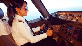 Female Pilot of AIR INDIA | Boeing 777