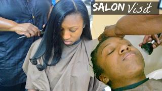 The Journey  Relaxed Hair Salon Visit  Season 1 Episode 2 W LMRH