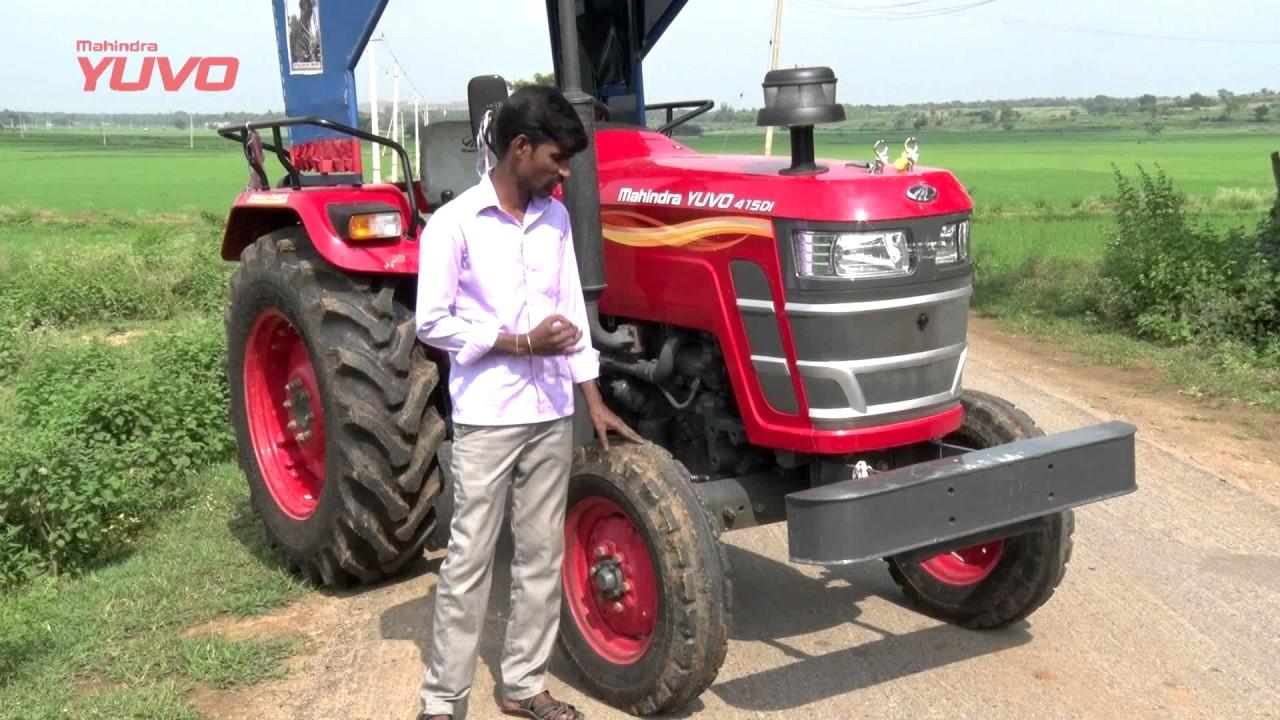 Mahindra Tractors Testimonial - Karnataka - Viresh