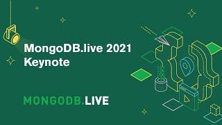 MongoDB.live 2021 Keynote screenshot 2