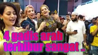 Lagu Arab paling Viral semua penonton suka retmelo buskers bukit bintang👍.
