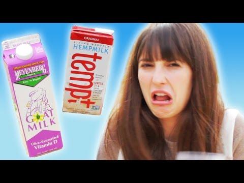Weird Milk Taste Test