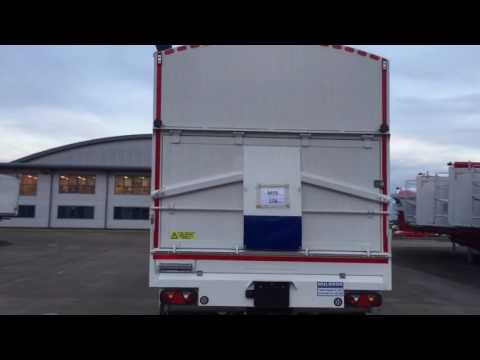 New 2016 Muldoon Bulk Blowing Tipping / Tipper Trailer For Sale
