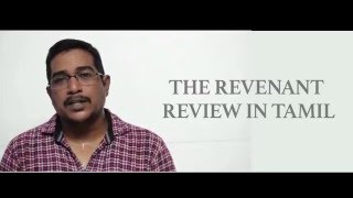 THE REVENANT - Tamil Review