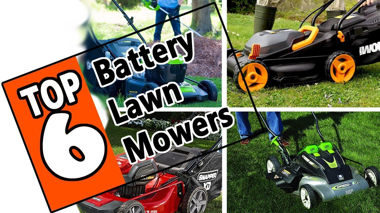 Best Battery Lawn Mower 2019 🌻 Best Battery Powered Lawn Mower 2019   Review Of The Top 6