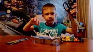 Unboxing Hot Wheels Speed Blaster, Грузовик от хот вилс, трейлер