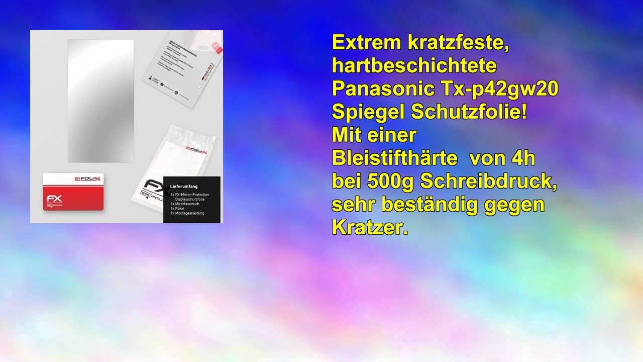 atfolix Spiegelfolie Panasonic Txp42gw20 Fxmirror vollverspiegelte
