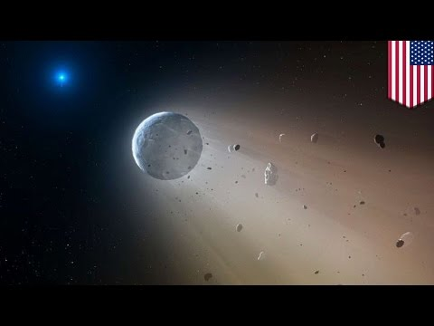 Real life 'Death Star' observed destroying planets in its own solar system