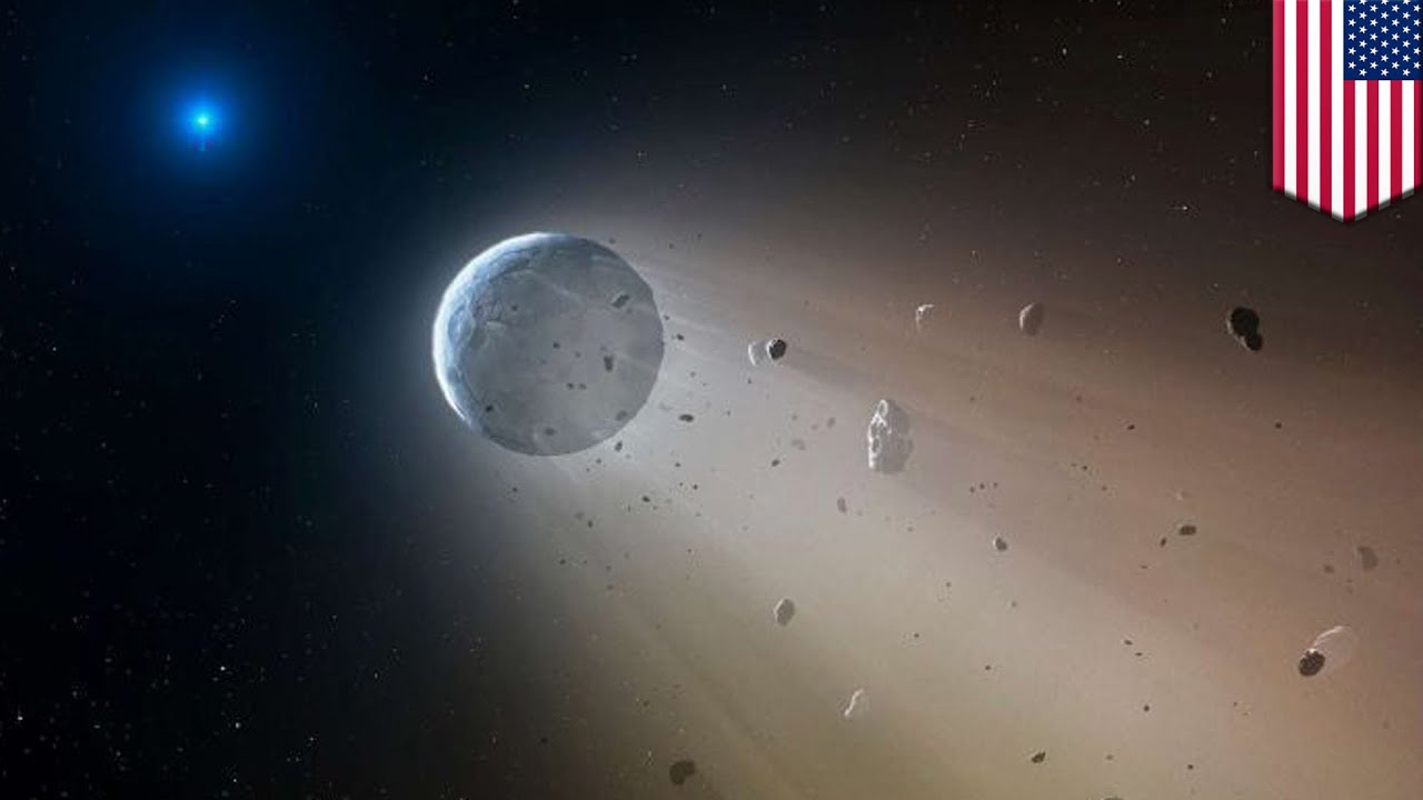 Real life Death Star observed destroying planets in its