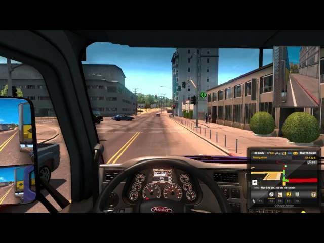 American Truck Sim Part III No Commentary Let's Play