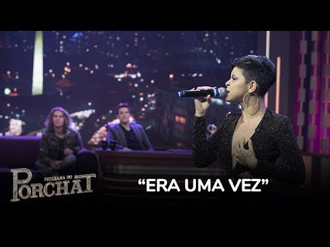 Kell Smith Canta O Hit Era Uma Vez No Palco Do Programa Do Porchat