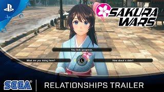 Sakura Wars - Relationship Trailer | PS4