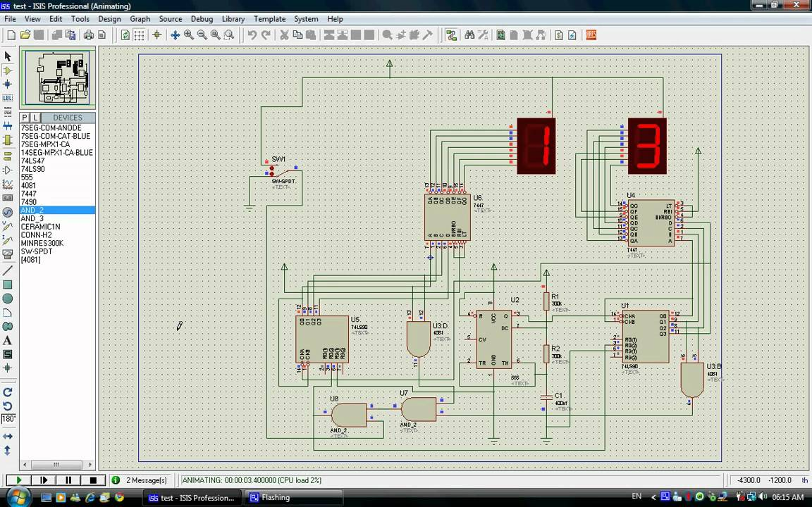 Final Project Digital Binary Counter Circuit Design