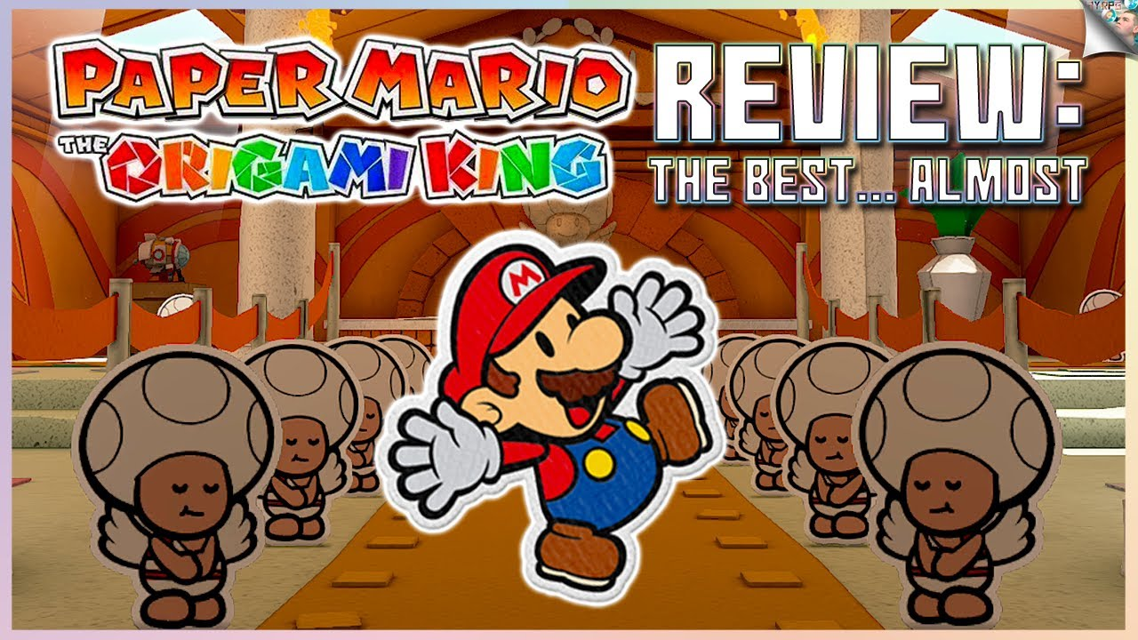 Paper Mario The Origami King Review: (Almost) The Best Paper Mario