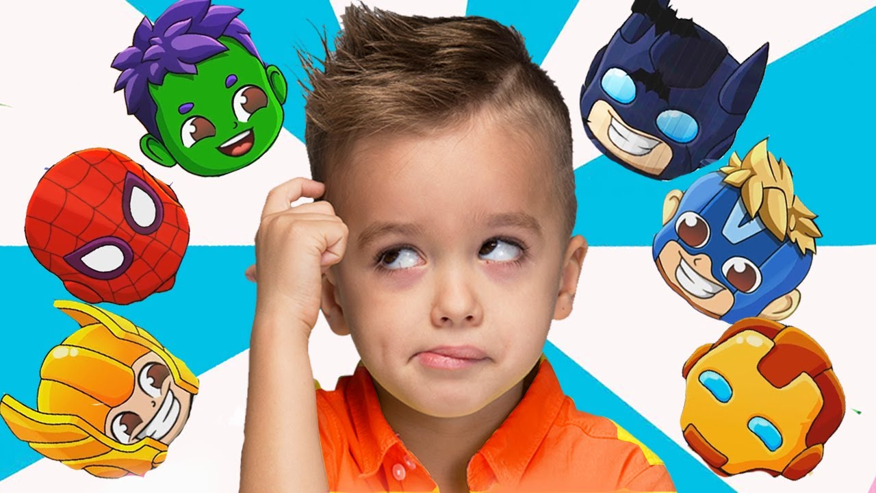 Download Vlad and Niki turn into heroes video for kids