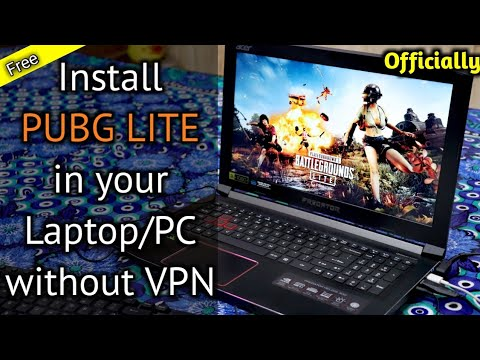 How to install PUBG PC LITE on your laptop/pc | Install PUBG LITE without VPN in India | PUBG LITE