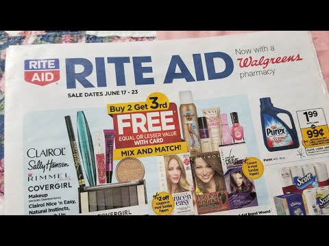 Rite Aid 6/17/18 preview couponing