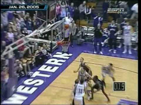 Northwestern Wildcats Basketball vs. Iowa Hawkeyes - 1/26/05