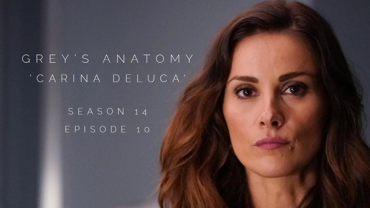 Download Stefania in Grey's Anatomy S14E10 as 'Carina DeLuca'