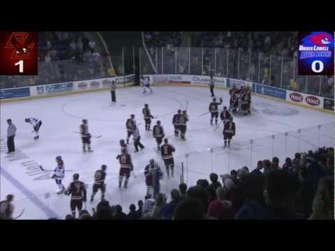 UMass Lowell Hockey vs Boston College 10 26 2012