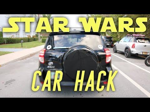 Star Wars Lightsaber Car Hack!