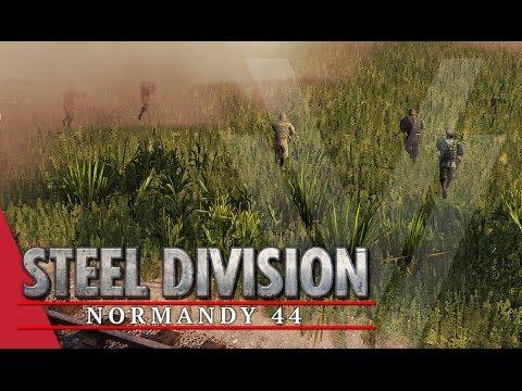 Storming The Factory! Steel Division: Normandy 44 Beta Gameplay #45 (Colombelles, 2v2)
