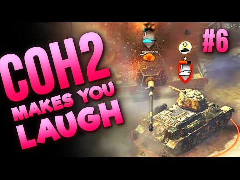 THE HERO T-34, AT OVERWATCH CHAOS & GOLIATHS — When COH2 Makes You Laugh #6 thumbnail