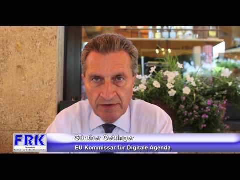 FRK Interview: Günther Oetinger, EU Kommissar für Digitale Agenda