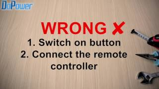 How to install the remote controller