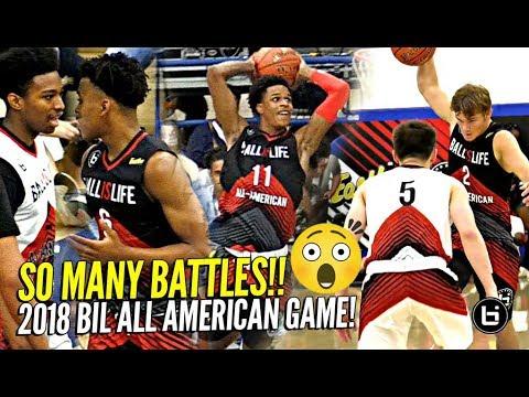 Jordan McCabe vs Mac McClung!?! SO MANY 1 on 1 BATTLES at 2018 BIL All American Game!! OT GAME!