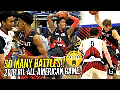 Jordan McCabe Vs Mac McClung!?! SO MANY 1 On 1 BATTLES At 2018 BIL All American Game!! OT GAME!