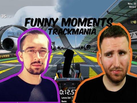 FUNNY MOMENTS 1 - PURPOSE  & HUNTER - TRACKMANIA