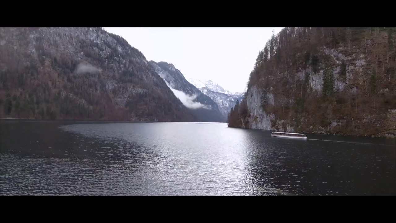 LAKE KÖNIGSSEE FROM THE AIR  | Soaring Through The Sky