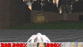 Doom II (100%) Walkthrough (Map16: Suburbs)