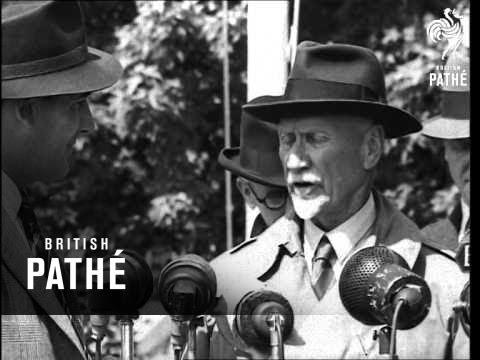 F/m Smuts Ex Premier Of South Africa Arrives AKA Smuts Arrives In UK (1948)