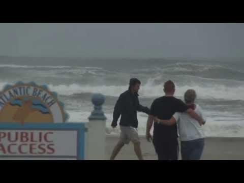 Hurricane Irene - Atlantic Beach, NC - Havelock, Morehead City, Beaufort
