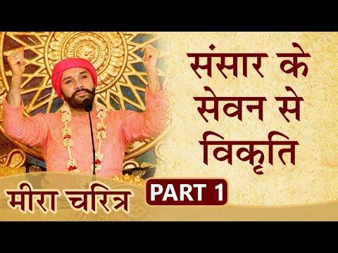 संसार के सेवन से विकृति   Meera Charitra   Part 1   Shree Hita Ambrish Ji
