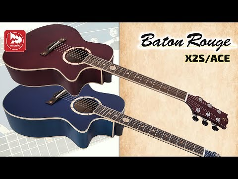 Электроакустическая гитара BATON ROUGE X2S/ACE Blue Moon и Red Moon
