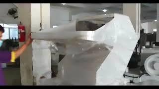 PET/PVC packing belt crushing/granulating