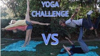 YOGA CHALLENGE: Boys VS Girls!?