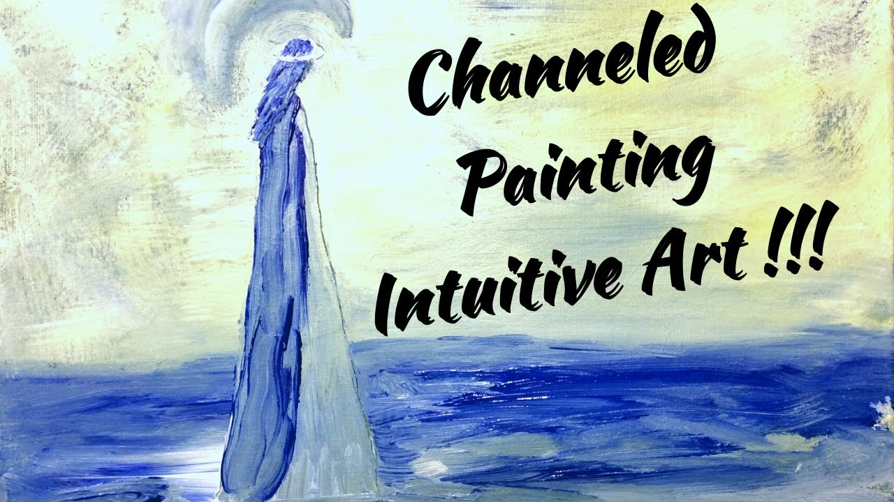 Painting Demo And Giveaway ! #paintingdemo #intuitiveart #channeledart #artist #intutitivepainter