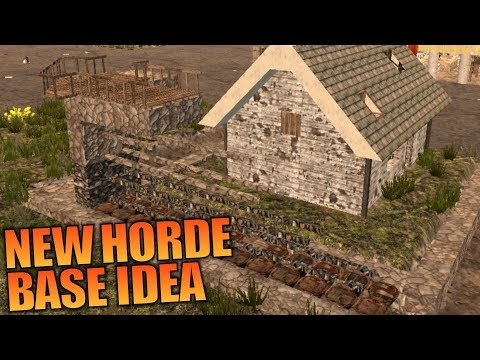 NEW HORDE BASE IDEA | WotW MOD 7 Days to Die | Let's Play Gameplay Alpha 16 | S02E18