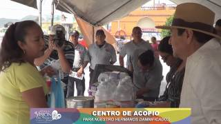 Centro de acopio Yautepec, para nuestros hermanos damnificados