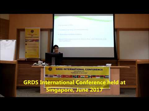 GRDS International Conference held at Singapore, June 2017