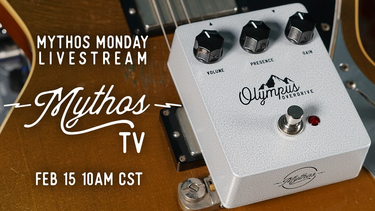 Let's talk about the Olympus! Mythos TV Livestream