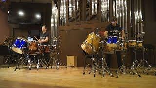 Ансамбль ударных инструментов «Percarus Duo». Живой концерт-презентация цикла (1 сентября 2018 г.)
