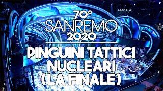 Sanremo 2020 - Pinguini Tattici Nucleari prima della finale