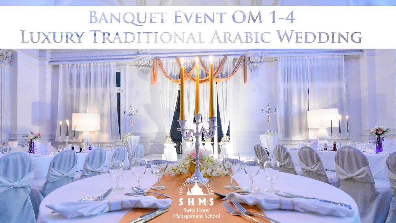 Shms Banquet Event Luxury Traditional Arabic Wedding Om1 4 Youtube