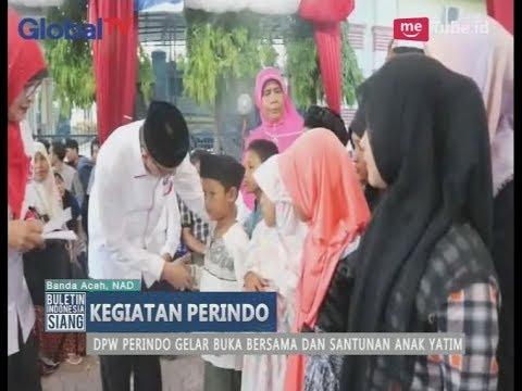 DPW Perindo Aceh Gelar Buka Bersama & Santunan Anak Yatim - BIS 11/06