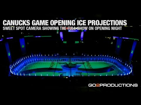 Canucks Game Opening Ice Projections 2014/15